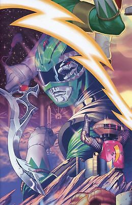 Mighty Morphin Power Rangers #16 Morris Virgin Variant - Green Ranger