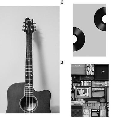 Nordic Guitar Music Poster Canvas Painting Wall Art Living Room Home Decor Hot