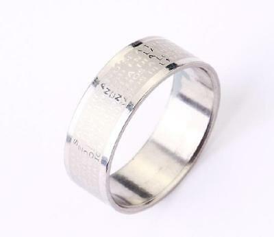 new cool jewelry stainless steel solid bible cool rings  size11