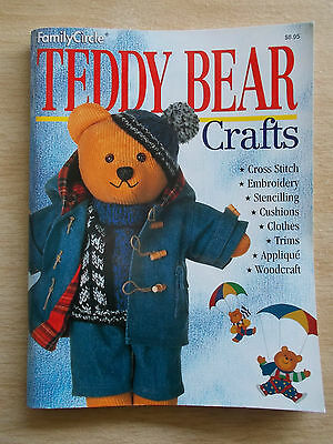 Teddy Bear Crafts~Family Circle~Knit~Crochet~Sew~Cross Stitch~Embroidery~Clothes