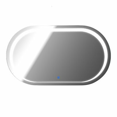 LED Bathroom Mirror Wall Mounted Illuminated Sensor