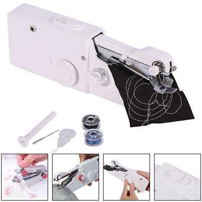 Mini Portable Cordless Handheld Single Stitch Fabric Sewing Machine with BONUS