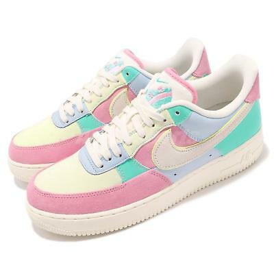 7cdb7656534 Nike Air Force 1 07 QS EASTER 2018 Spring Patchwork Pack Mens Shoes AH8462- 400