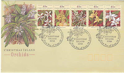 1994 Christmas Island Orchids - FDC