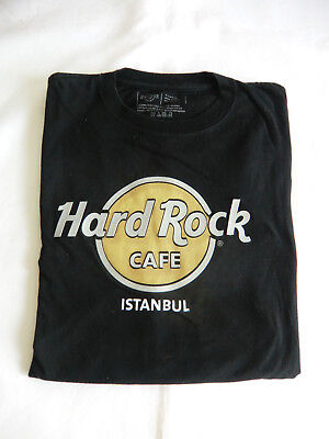 Hard Rock Cafe Istanbul Herren T-Shirt in schwarz Gr. X Large  siehe Fotos