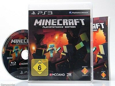 MINECRAFT PLAYSTATION EDITION Dt Version Playstation - Minecraft ps3 spiele