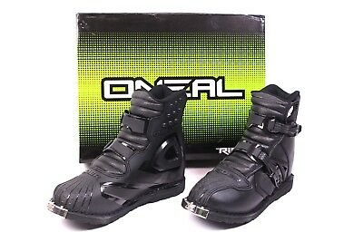 Oneal Motocross Stiefel Rider Boot US SHORTY Gr 43 MX Enduro ATV Quad schwarz