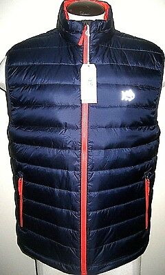 Southern Tide Mens Performance Down Vest Navy Blue Size Large Free Ship NWT