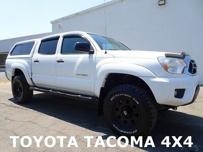 Toyota Tacoma Base Crew Cab Pickup 4-Door Used Truck 4X4 Backup Camera 2012 Toyota Tacoma 4X4 Base Crew Cab Pickup 4-Door Aftermarket Wheels and Tires