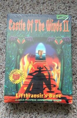 Castle Of The Winds 2 ii PC Brand New Sealed