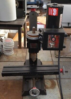 Sherline model 5410 variable speed drill (Metric) with Sherline 4345 motor