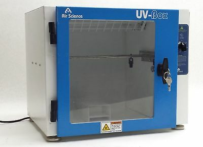 Air Science Uvb 15 Uv-Box Benchtop Dna Forensic Evidence Decontamination Chamber