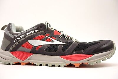 4db10c0cb10 Womens Brooks Cascadia 11 Mesh Cushioned Trail Running Athletic Shoes Size  11