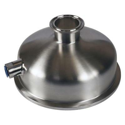 Bowl Reducer   Tri Clamp/Clover 6 inch x 1.5 (1 1/2) x 1/4 FNPT (3 Pack)