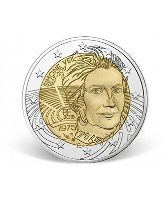 "Commémorative France 2018, ""Simone Veil"".UNC"