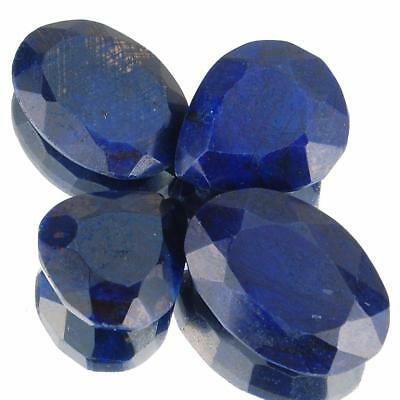 213 Cts/4 Pcs Exclusive Natural Blue Sapphire Wholesale Lot Earth Mined Gemstone