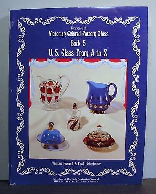 United States U S Glass from A to Z, Early Production
