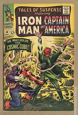 Tales of Suspense #80 1966 GD+ 2.5