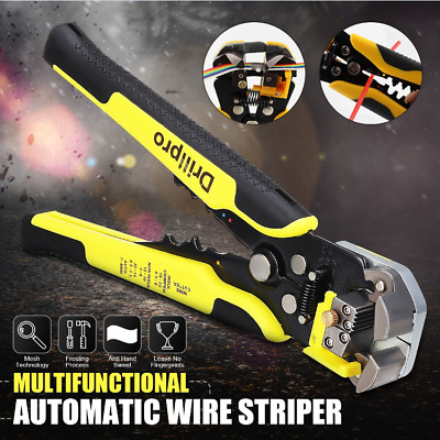 Automatic Wire Striper Cord Cutter Cable Crimper Line Pliers Terminal Hand Tool