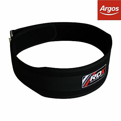 RDX Large Weight Lifting Belt - Black. From the Official Argos Shop on ebay