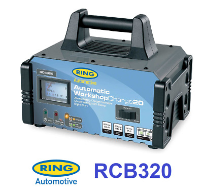 Ring RCB320 20A Battery Charger & 80A Engine Jump Starter