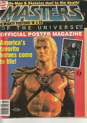 He-Man / Masters of the Universe Official Poster Magazzine, 1987 w/ posters