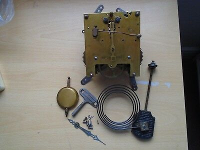 Vintage Clock  Parts ,  Clock Movement ,made In England