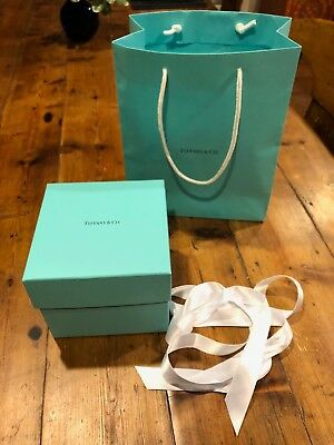 Empty Tiffany & Co. Box With Gift Bag