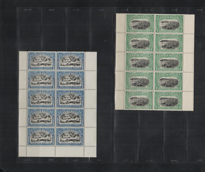 253 Congo Belge Belgium beautiful HCV part sheets MNH