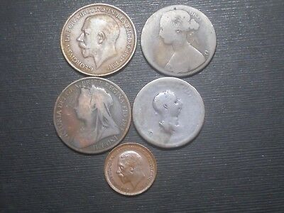 3628     - Great Britain    - Five Coins