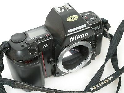 Nikon F-801 AF body sehr g. und voll funktionsf. Zustand Excellent  fully funct.