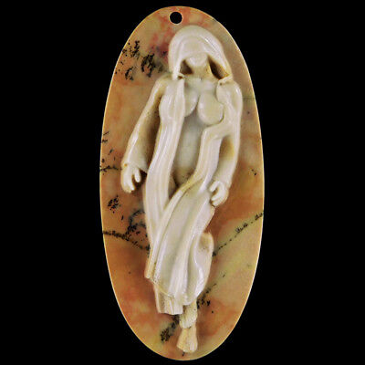 WalyCorp Carved Lady Model Bead DQ502071