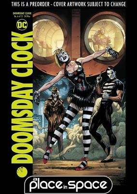 (Wk29) Doomsday Clock #6B - Variant - Preorder 18Th Jul