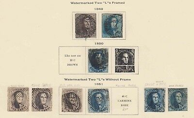 Belgium 1-2 & More Collection Lot Mounted $270 Scv