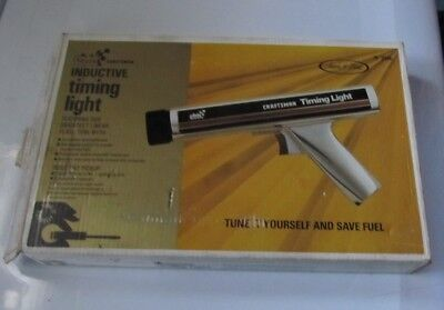 Vintage Inductive Timing Light Sears Craftsman With Box Instructions