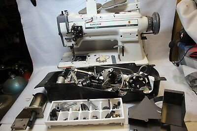 Singer 211A 211A1121 Industrial Sewing Machine Leather Sail Canvas Complete FS