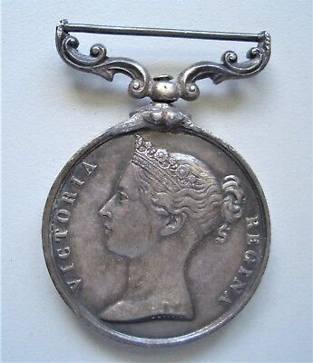 Queen Victoria , Baltic Medal 1854-1855, Unnamed, 36 mm, {B535}