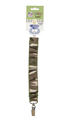 Baby Ganz Camo Pacifier Clip NWT Boy or Girl Gift from Daddy!