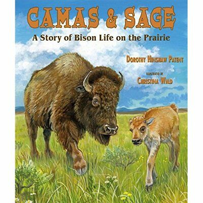 Camas & Sage: A Story of Bison Life on the Prairie - Paperback NEW Dorothy Hinsh