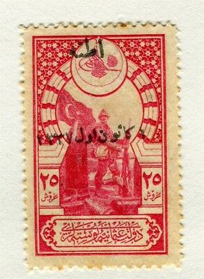 TURKEY; Early 1900s. fine Fiscal issue Mint Optd. 20pa. value