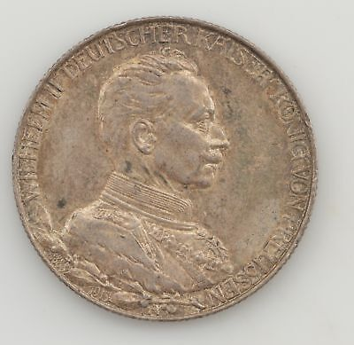 1913-A Germany Prussia 2 Mark *415