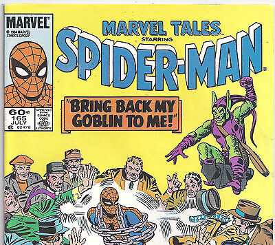 The AMAZING SPIDER-MAN #27 Reprint in Marvel Tales #165 from July 1984 in Fine