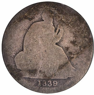 1839 Seated Liberty Silver Dime *284