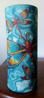 Dragonflies - WATER BOTTLE COOLER / WRAP - Sports / Exercise  - DRINKING - GIFTS