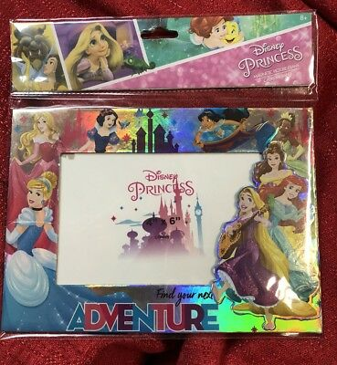 Disney Princess & Friends Photo Frame Table Top Or Magnetic- Holds 4x6 Photo