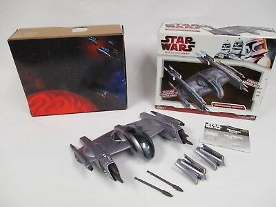 2008 Star Wars Clone Wars 30Th Anniversary Magnaguard Fighter W Box Legacy
