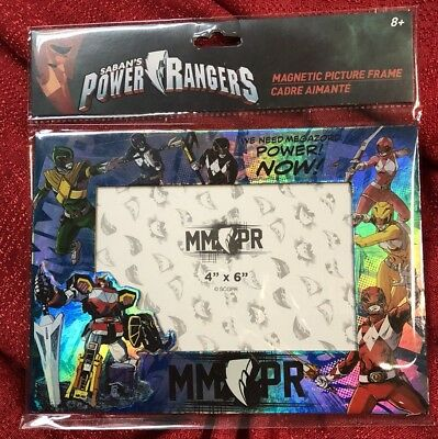 Power Rangers MAGNETIC Or Table Top PICTURE FRAME Holds 4X6 Photo