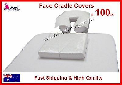 Disposable Deluxe Hygienic Face Cradle Covers 100Pc/PK For Massage