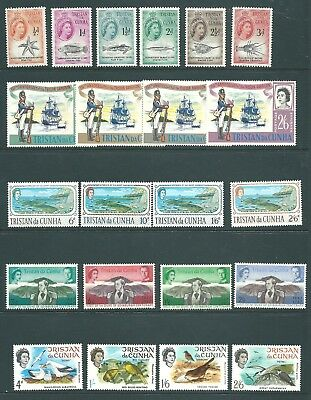 TRISTAN DA CUNHA mint QE2 stamp collection including sets