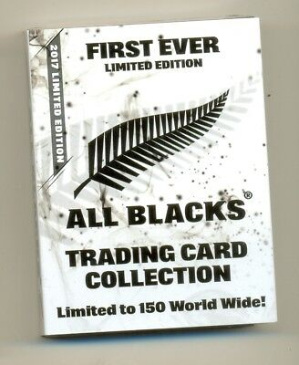 2017 ESP TLA All Blacks LTD EDT Signed white card set of 25 cards # 014/150